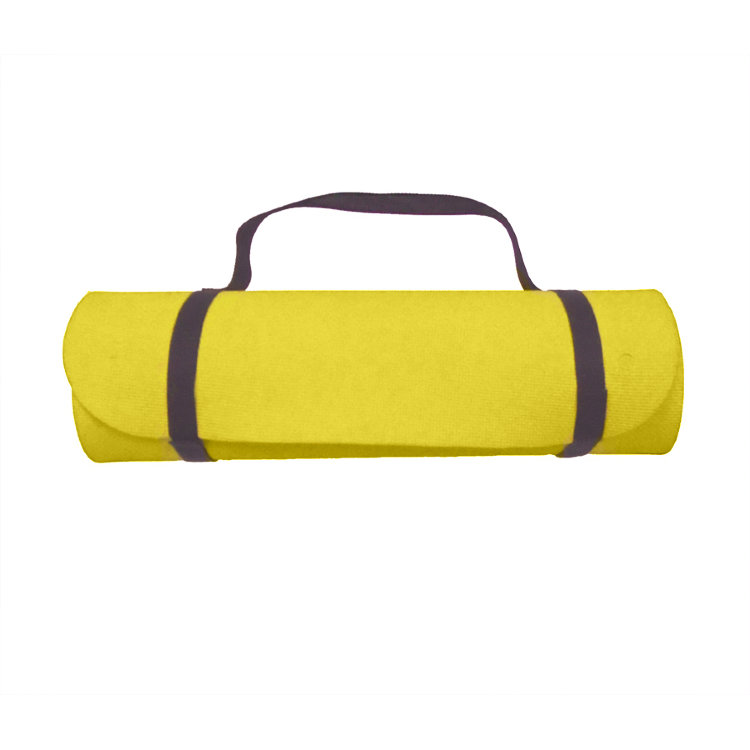 Коврик для фитнеса Eco Mat Yellow